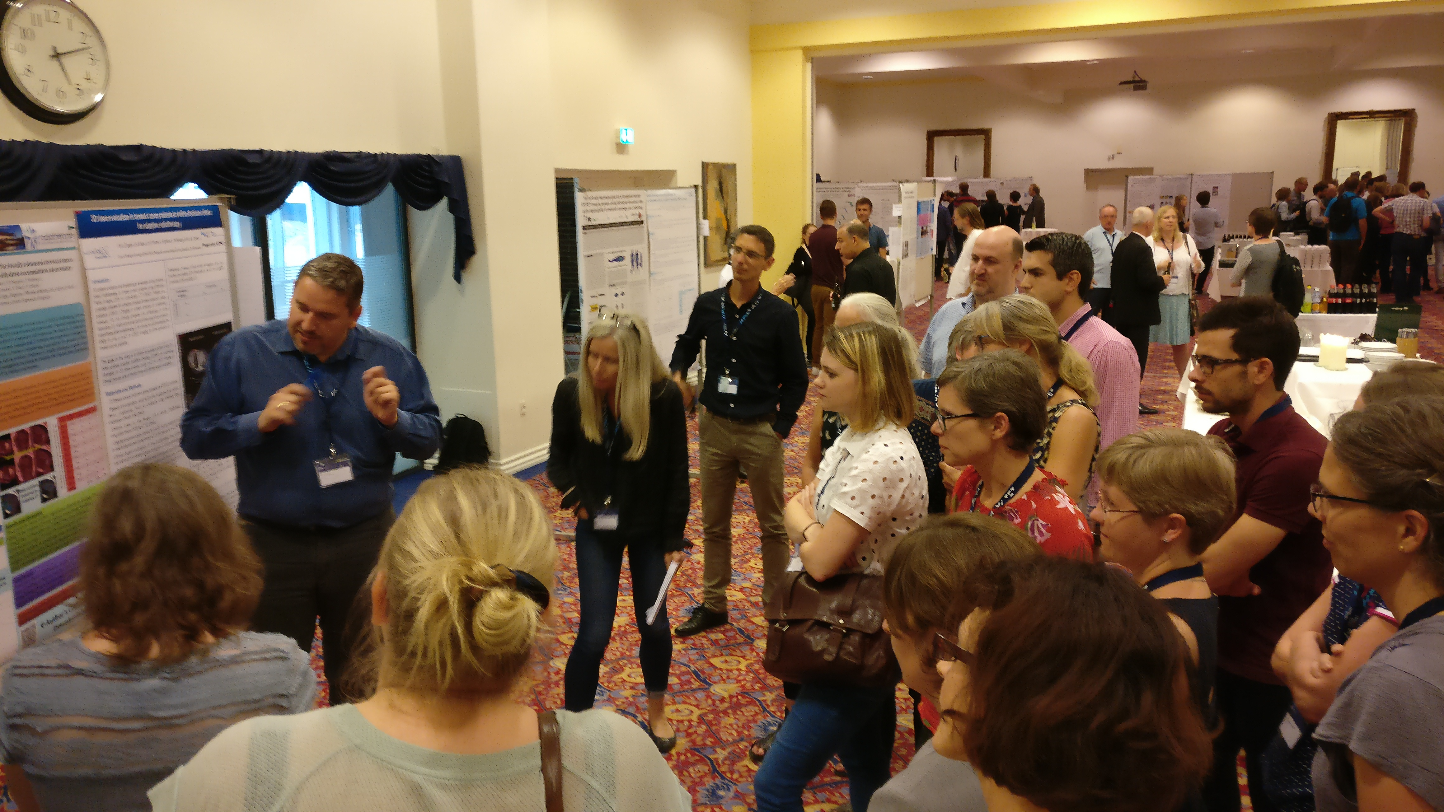 Poster discussion at BiGART2017